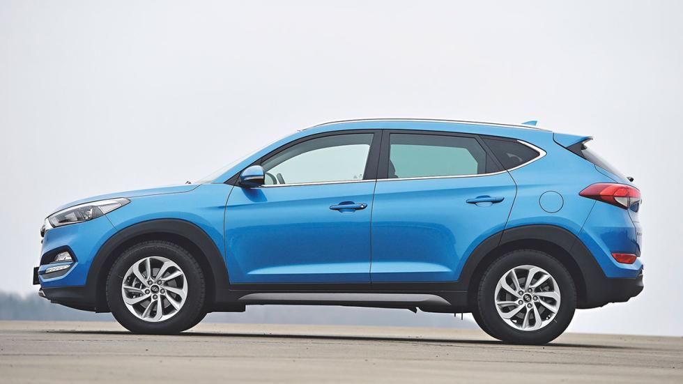 Comparativa SUV  compactos Hyundai Tucson
