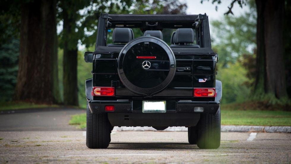 Mercedes G 55 AMG descapotable zaga