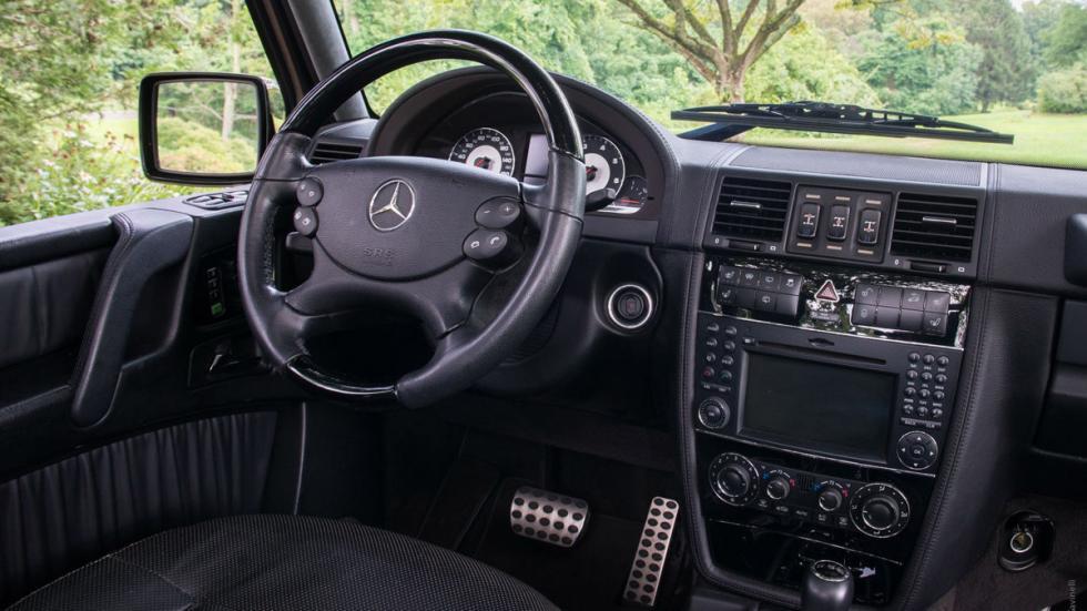 Mercedes G 55 AMG descapotable interior
