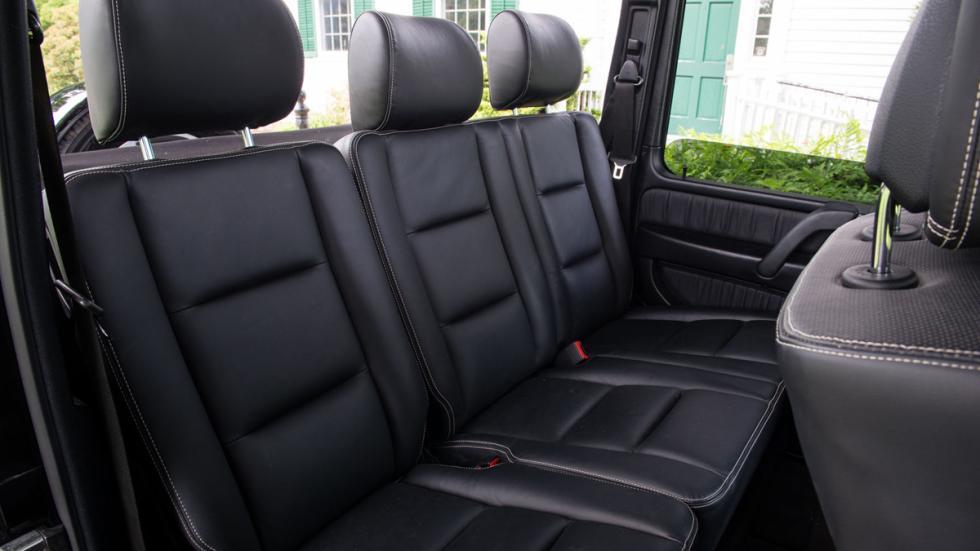 Mercedes G 55 AMG descapotable asientos traseros