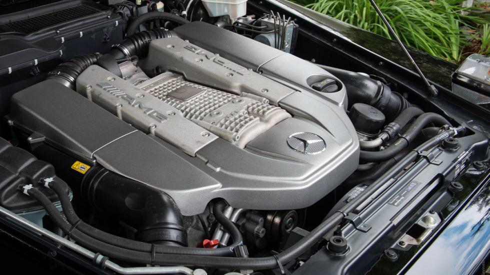 Mercedes G 55 AMG descapotable motor