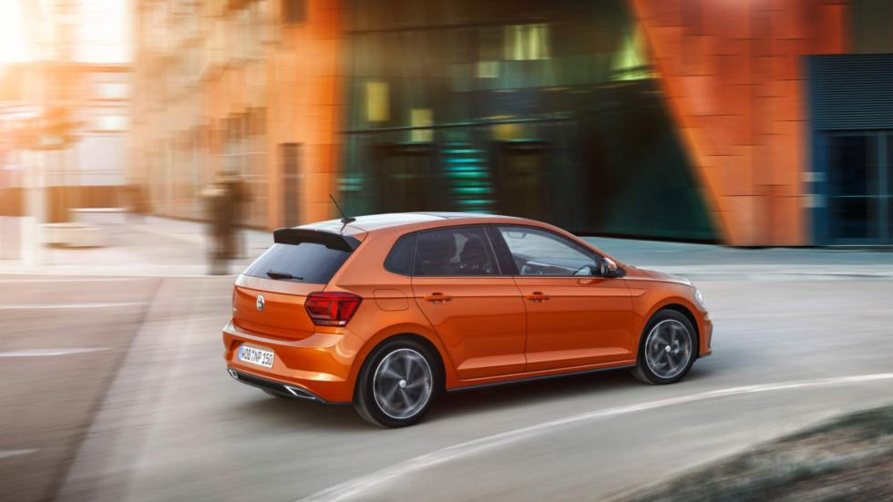 vw polo 2017 lateral movimiento