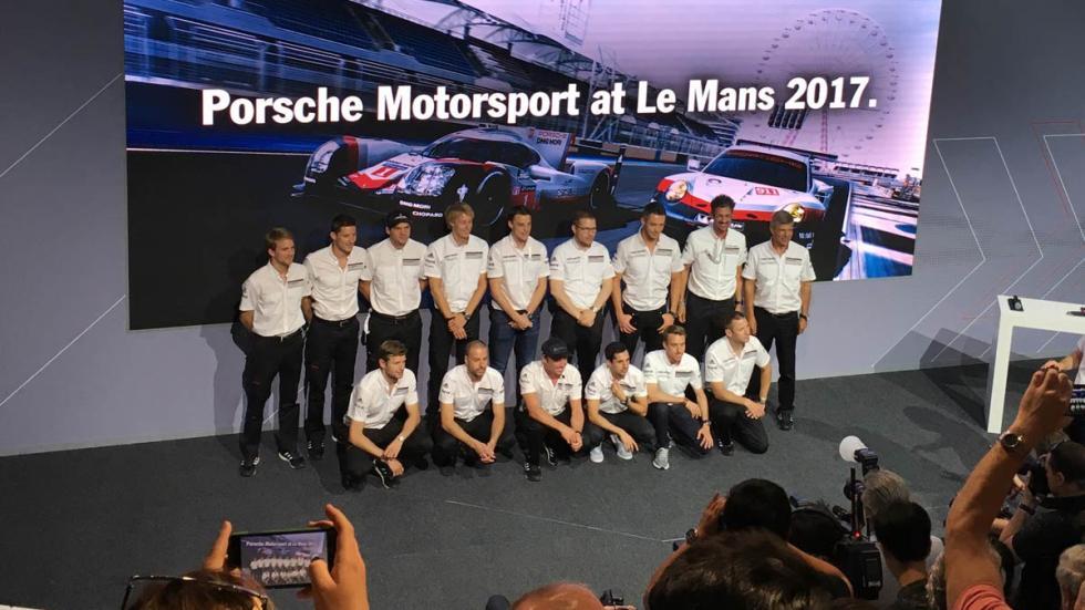 equipo Porsche Le Mans