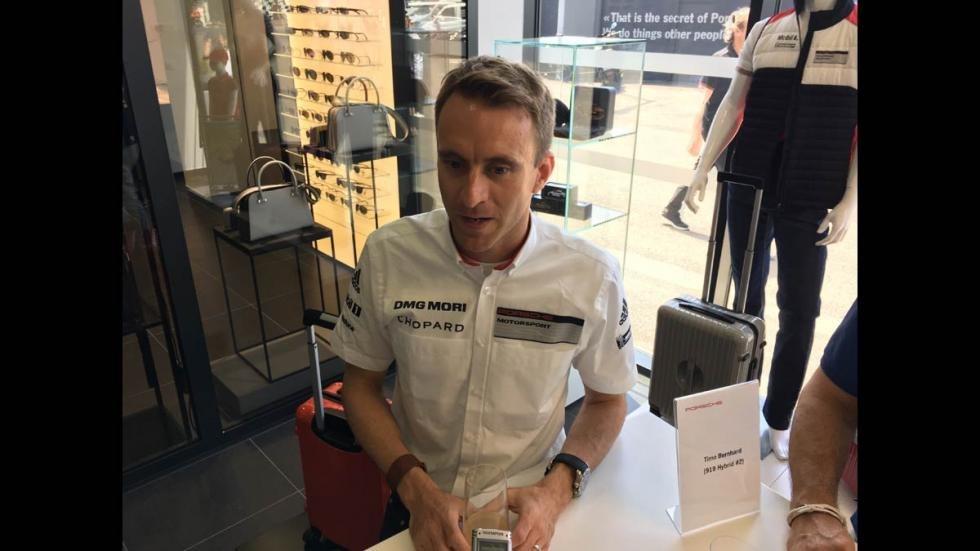 Timo Bernhard Le Mans 2017