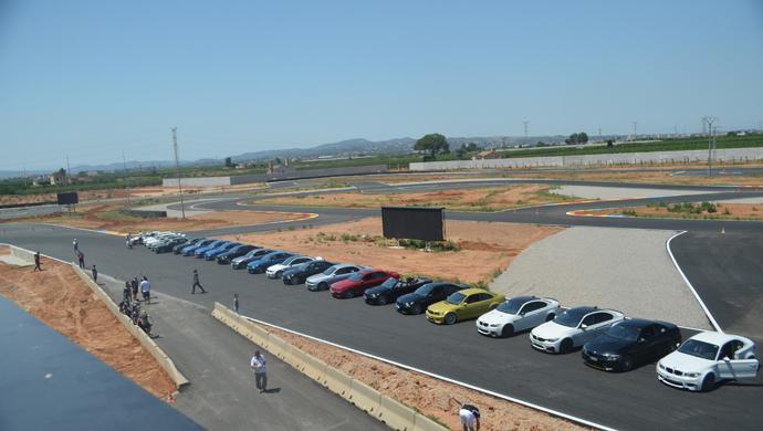 Circuito La Ribera : El bmw m club españa hace vibrar al circuit de la ribera