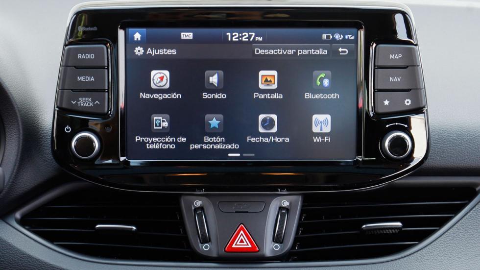 Hyundai i30 Crosswagon pantalla flotante