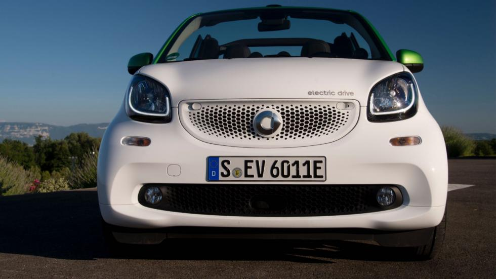 smart fortwo electric drive cabrio frontal