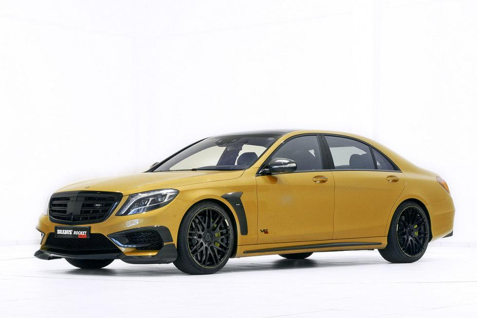 "Brabus Rocket 900 ""Desert Gold"" Edition. V12... ¡Con 1.500 Nm de par!"