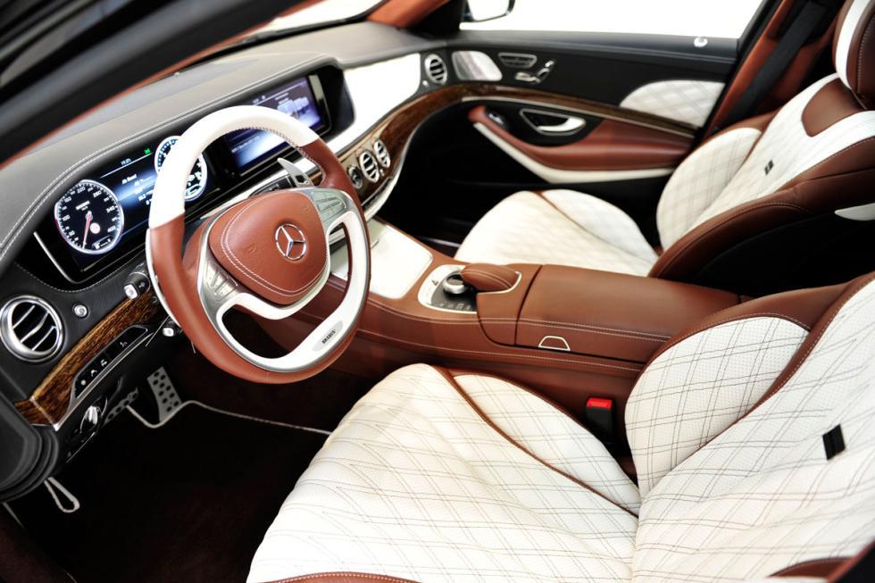 ¿Se puede mejorar el lujo interior de un Clase S? Brabus sí puede. Aquí un ejemp