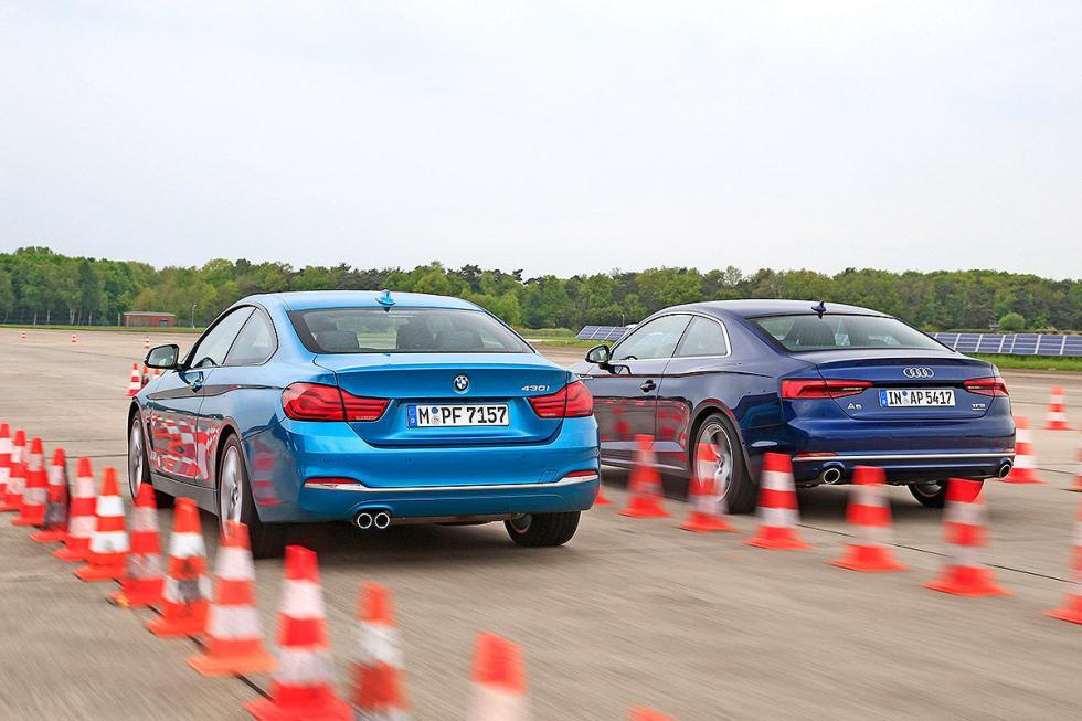 Audi A5 vs BMW Serie 4