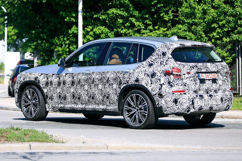Las imágenes filtradas del BMW X3 2018
