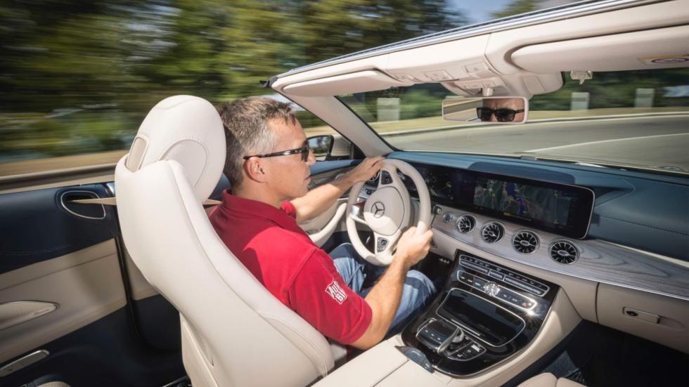 Mercedes Clase E Cabrio 2017 prueba
