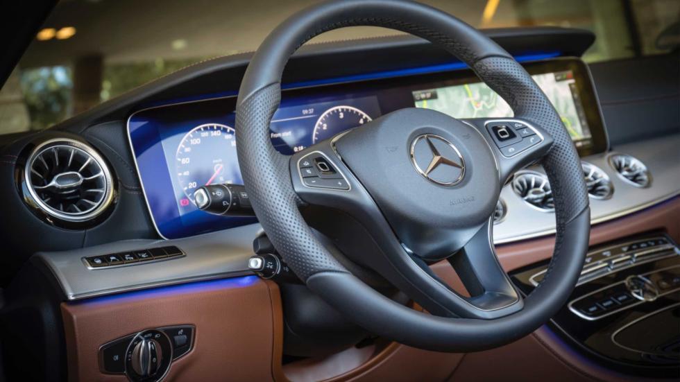 Mercedes Clase E Cabrio 2017 habitáculo