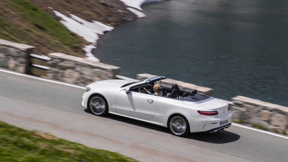 Mercedes Clase E Cabrio 2017 trasera