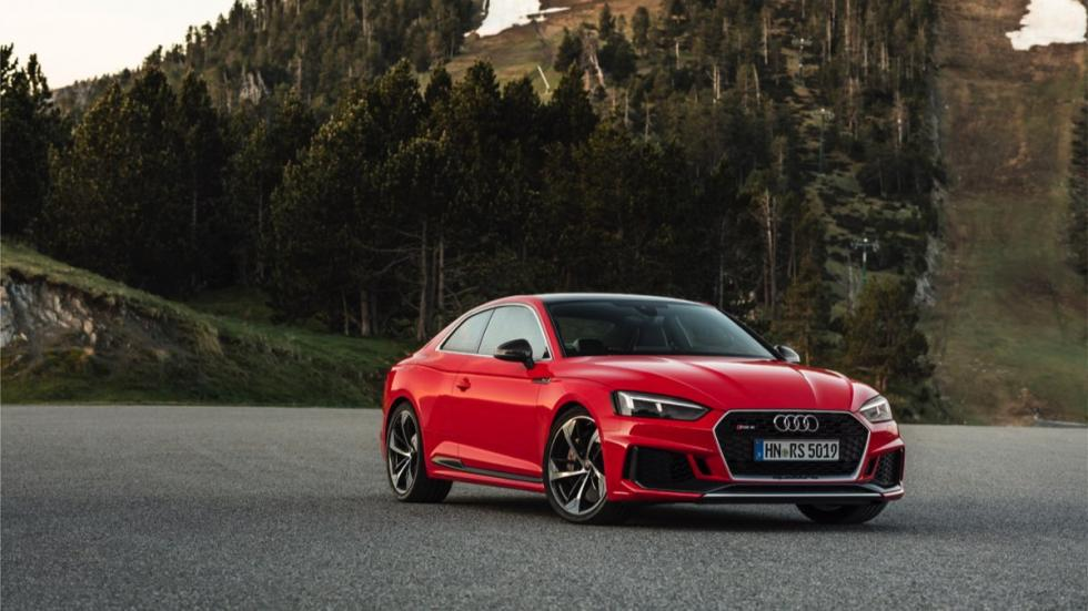 Audi RS 5 Coupe 2017 morro