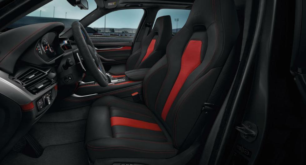 BMW X5 M y X6 Black Fire Edition