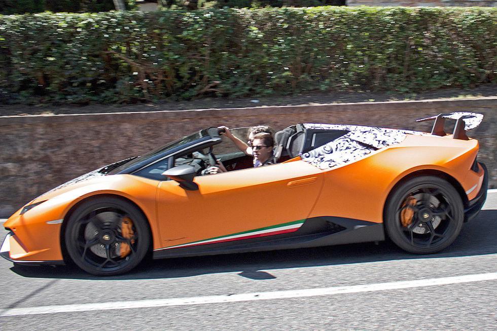 Lamborghini Huracán Performante. Este año. Receta: menos peso, más potencia. Ent