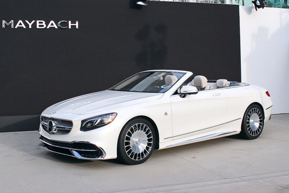 Mercedes-Maybach S 650 Cabrio. No bajará de los 300.000 euros de partida. 4,1 s