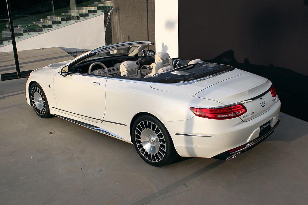 Lleva un V12, y un lujo que supera, incluso, al Clase S.