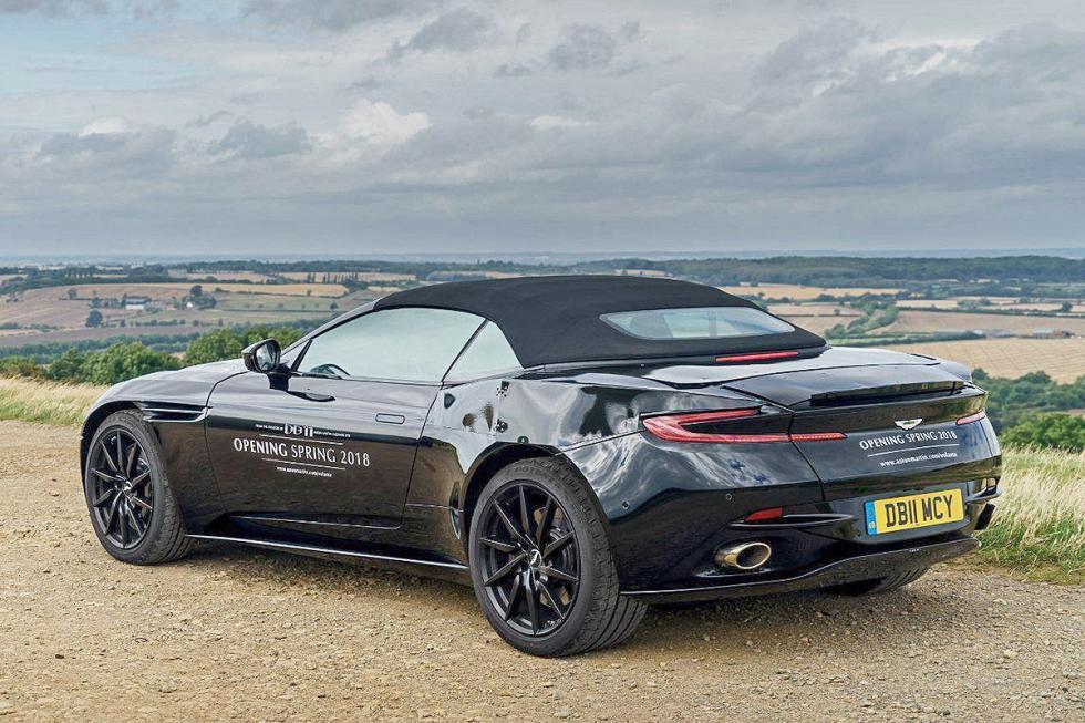 Aston Martin DB11 Volante. Primavera de 2018. V12 biturbo, 608 CV y 700 Nm.