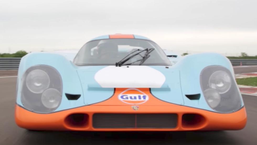 El Porsche 917K de la película Le Mans, a subasta