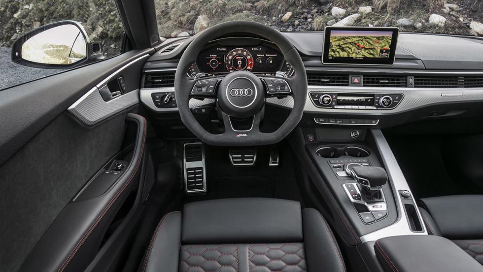Prueba del Audi RS5 2017