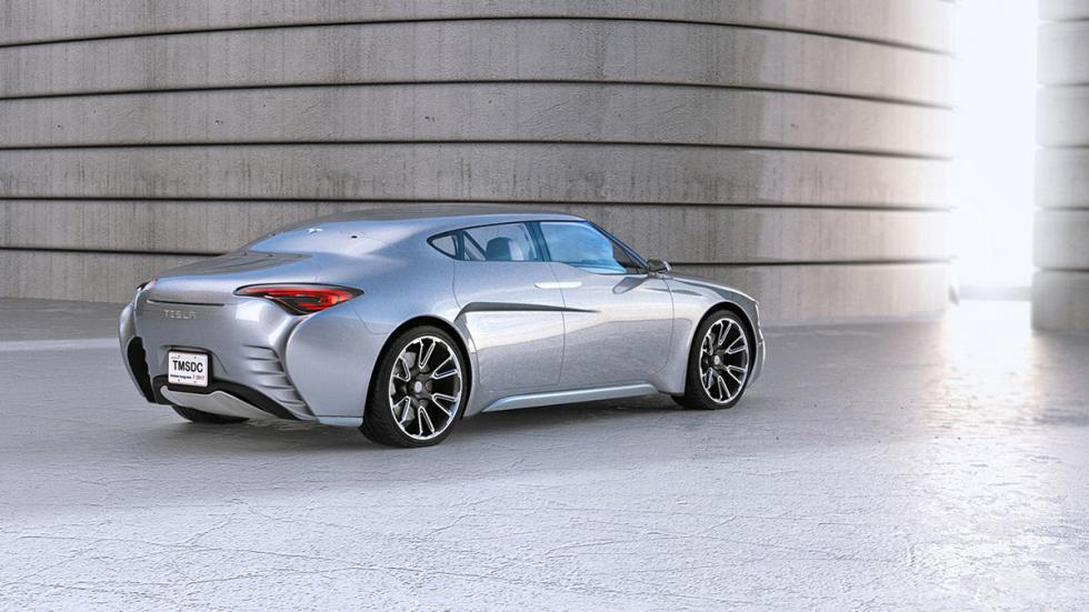 Tesla Model S render (3)