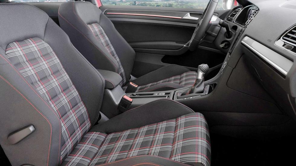 Volkswagen Golf GTI y su tapicería tartán