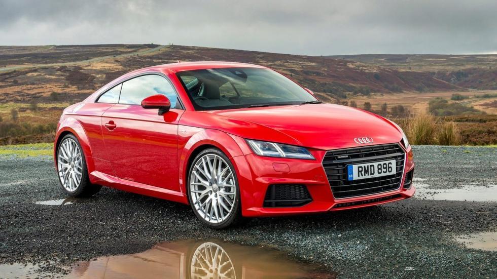 El Audi TT es ese tipo de coche que es mejor con motor de gasolina que diésel.