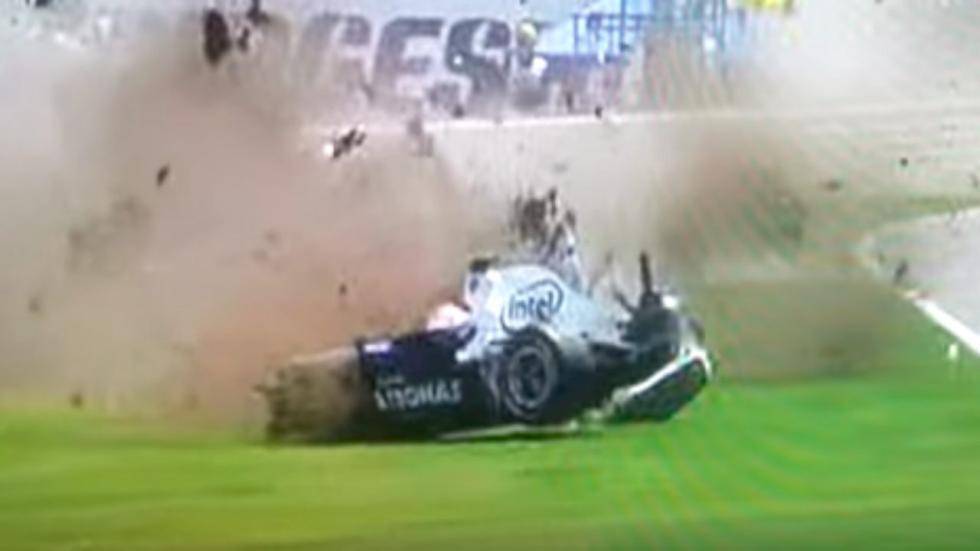 Accidente de Kubica en el GP de Canadá 2007