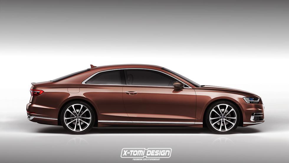 El Audi A8 Coupé de X-Tomi