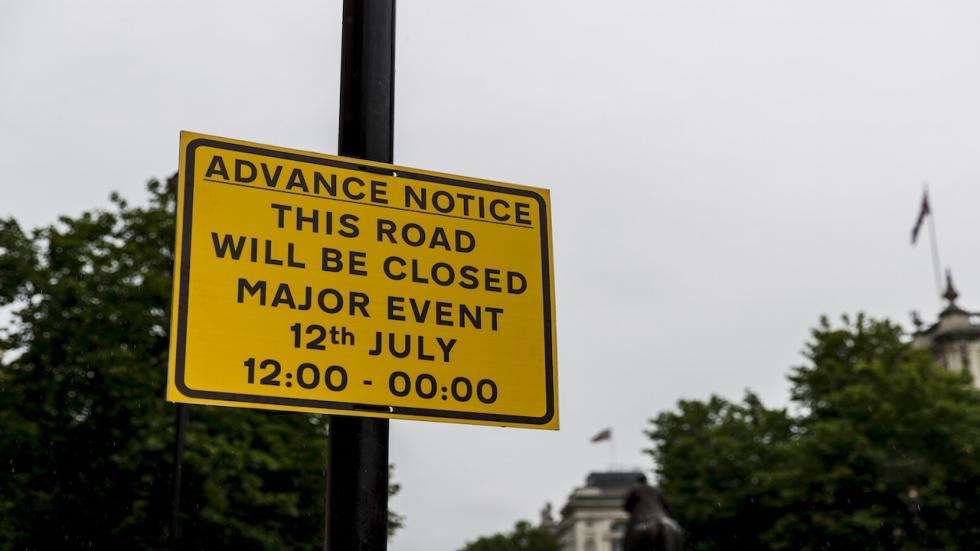 Las calles de Londres se han cerrado para recibir a la F1