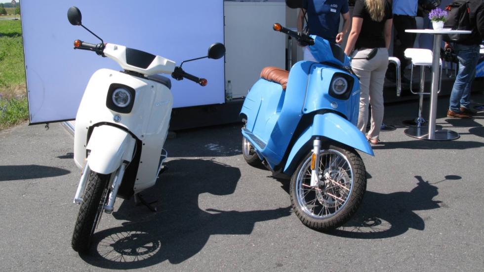 Ciclomotor eléctrico que Bosch vende para flotas de empresa