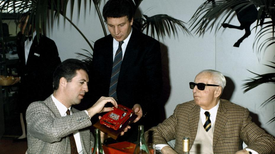 Enzo y Piero Ferrari