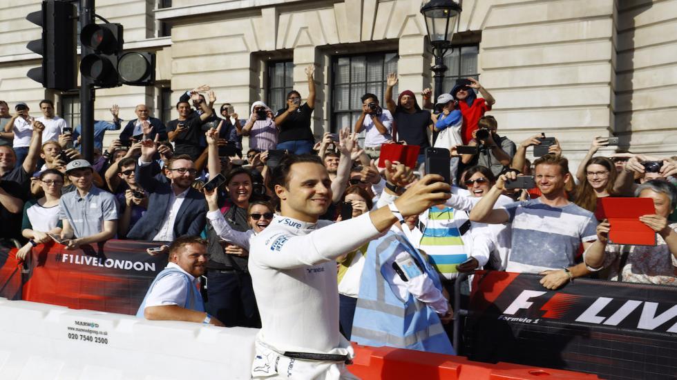 Felipe Massa tampoco se lo ha perdido
