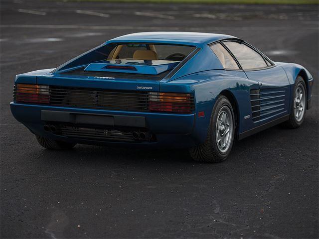 Ferrari Testarossa Michael Mann