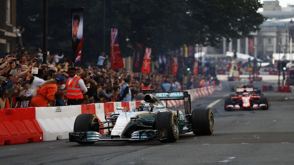 Han rodado sobre las calles de Londres numerosos F1