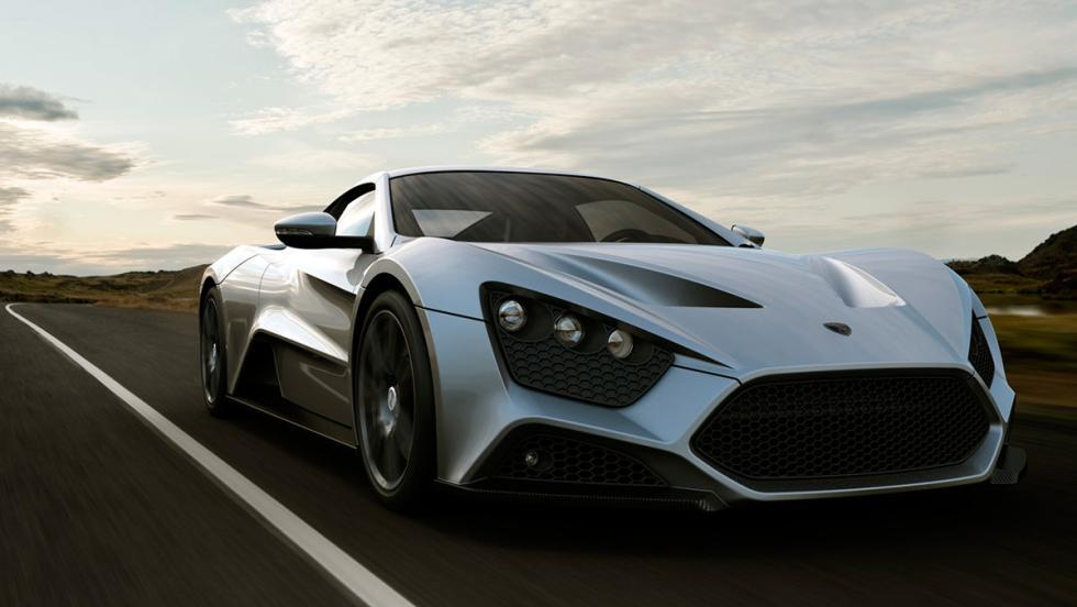 Mejores coches con turbo: Zenvo ST1 (I)