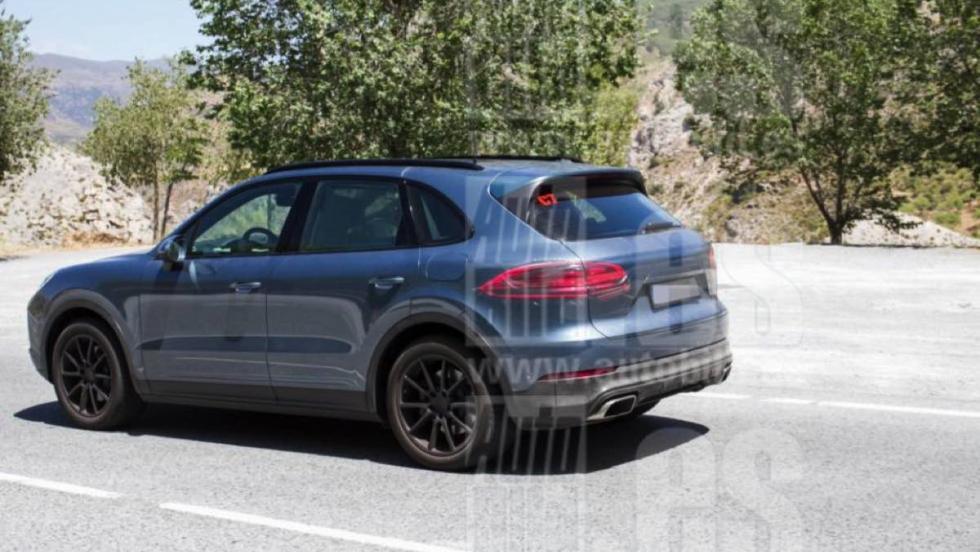 Porsche Cayenne 2018: fotos espía