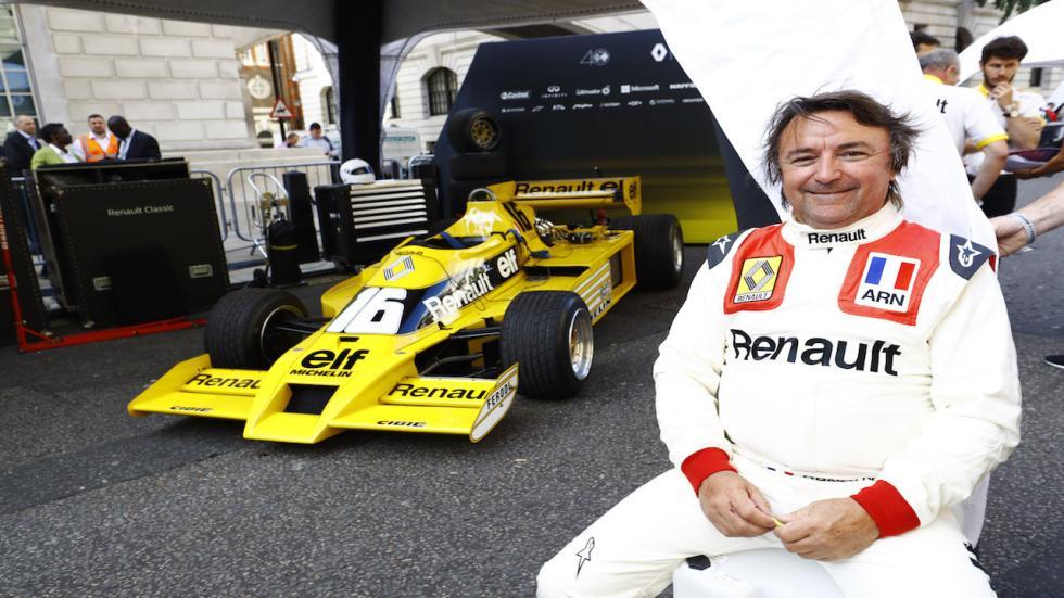 René Arnoux, histórico piloto de Renault