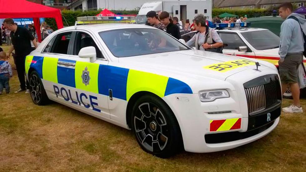 Rolls-Royce Policía (II)