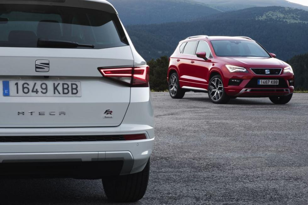 Seat Ateca FR frontal y trasera