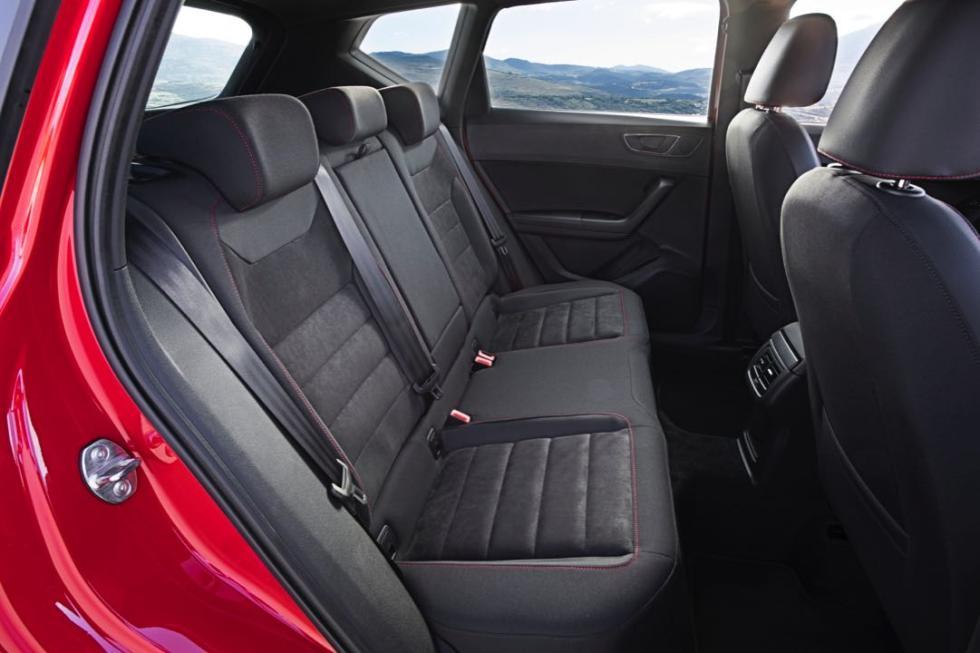 Seat Ateca FR asientos traseros