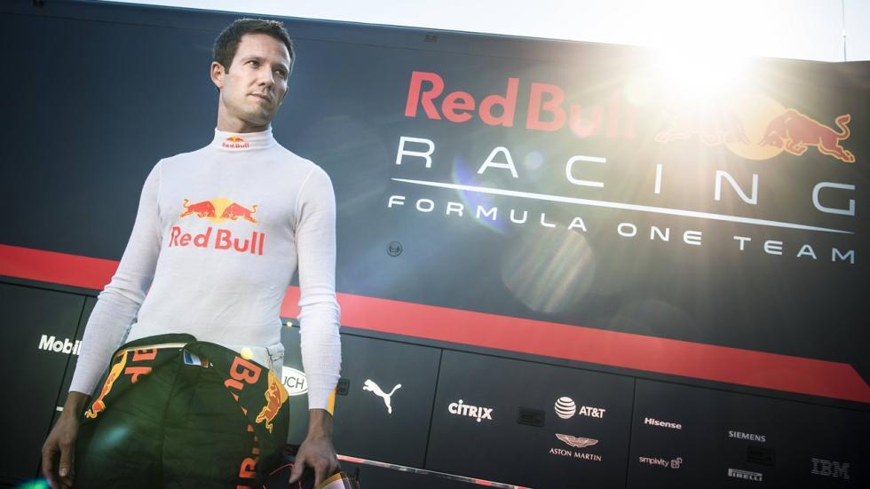 Sébastien Ogier prueba por primera vez un Fórmula 1.