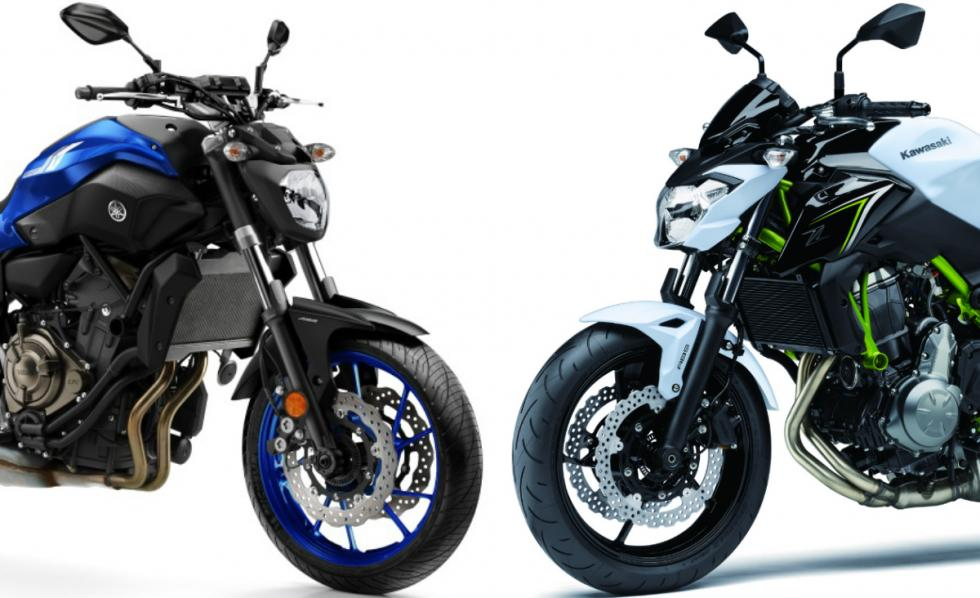 Yamaha MT-07 o Kawasaki Z650, ¿cuál es mejor?