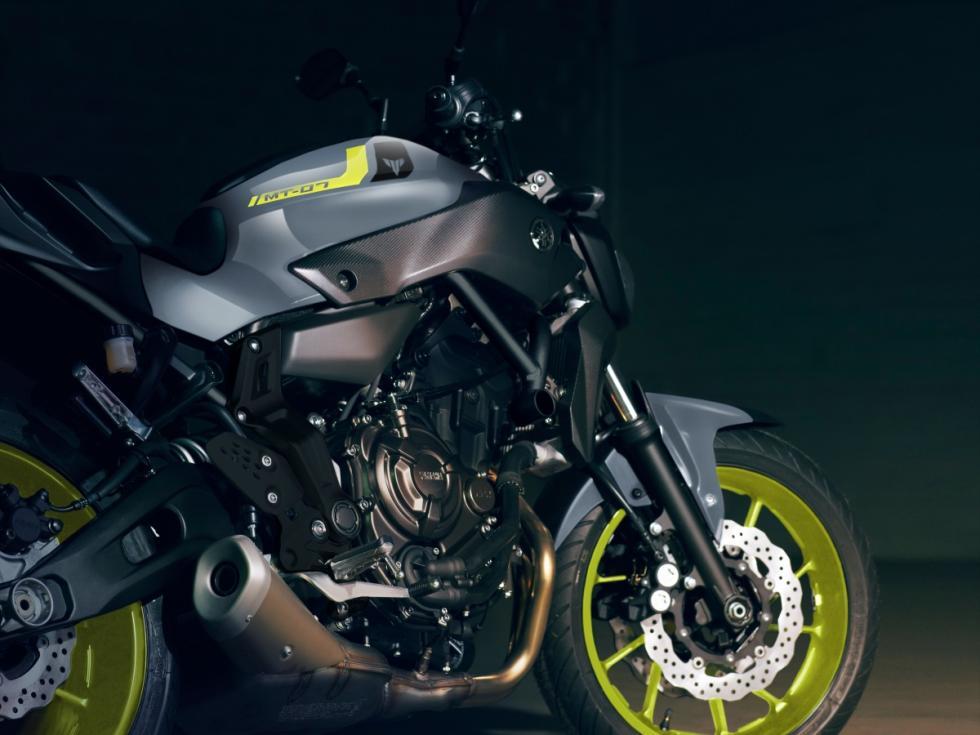 Yamaha MT-07 Motor