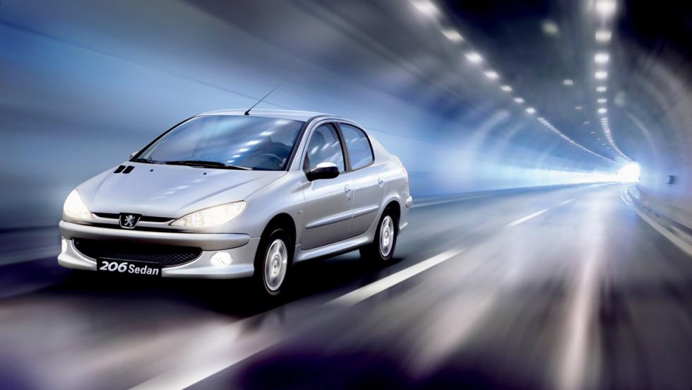5 coches que no conoces de Peugeot - Peugeot 206 Sedan