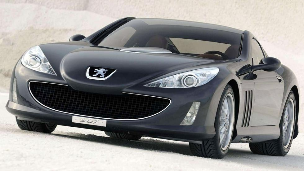 5 coches que no conoces de Peugeot - Peugeot 907