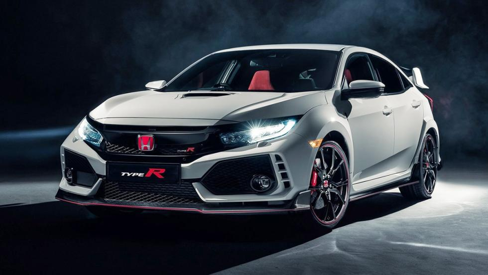 5 coches que son un imán para la Guardia Civil de Tráfico - Honda Civic Type R