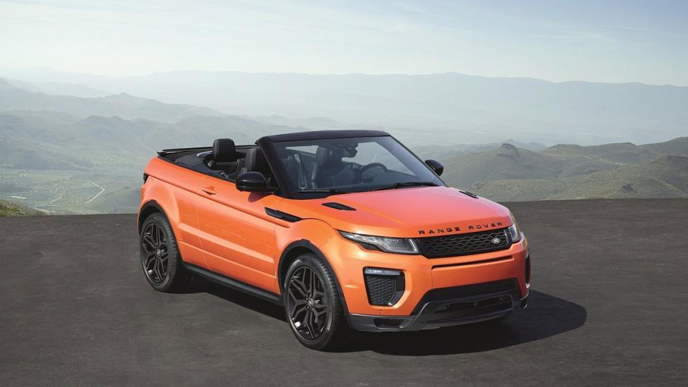 5 coches tan horteras para el verano como un bañador 'turbopacket' - Range Rover Evoque Convertible